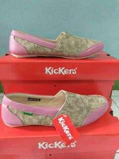Sepatu Kickers Wanita Slop Baleet Original Pabrik