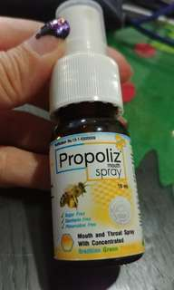 Propoliz Mouth and Throat Spray 15ml / bottle