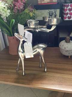 Unique Candle holders stainless steel deer
