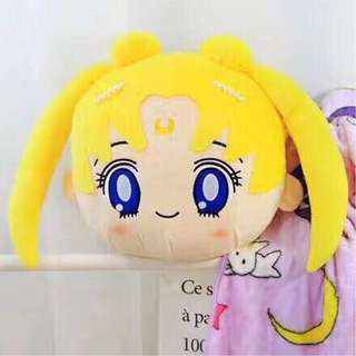 Sailor Moon Travel Pillow with Blanket