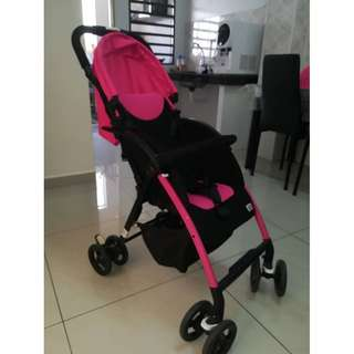 Preloved Sweet Cherry Stroller