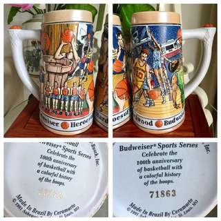 Collectible Basketball Beersteins