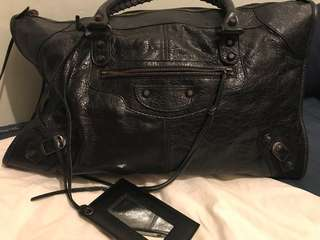 巴黎世家 balenciaga city work bag