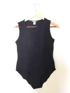 H&M Front Mesh Bodysuit