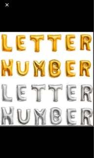 """Letter Alphabet Balloon 16"""" (40cm)"""