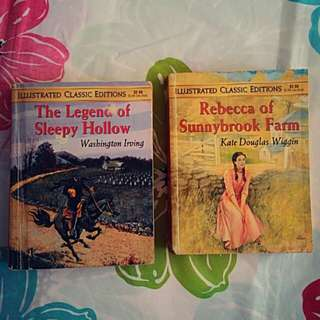 Combo 2 in 1 REBECCA OF SUNNYBROOK FARM & THE LEGEND OF SLEEPY HOLLOW