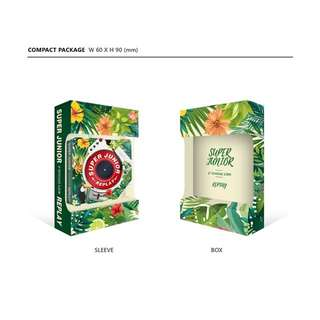 [Order by Today 6pm] Super Junior 8th Album Repackage Replay Kihno