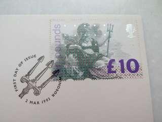 Great Britain UK England Stamp Special Postmark £10 - #2