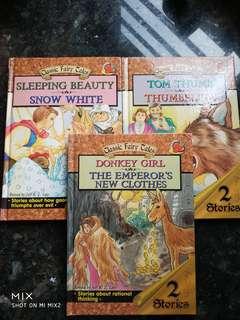 3 books of Classic Fairy Tales