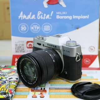 Camera mirorles fujifilm xt 10  bisa di cicil tanpa kartu credit