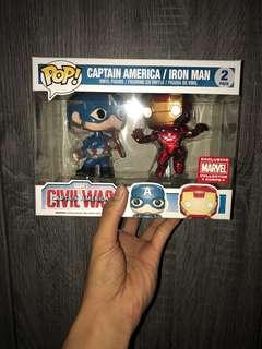 Captain America Civil War Funko Pop Collectibles