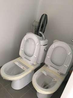 BTO WC / toilet bowl (1 set left)