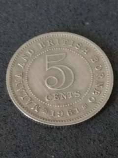Old Coin - Malaya and British Borneo