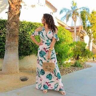 Ad Floral Maxi Dress