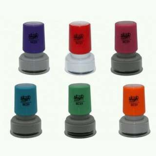 Personalised Self Ink Stamp - Min order of 30 pcs