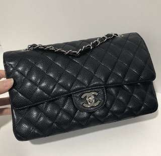 Premium Chanel Classic Medium Double Flap Caviar (GredA)