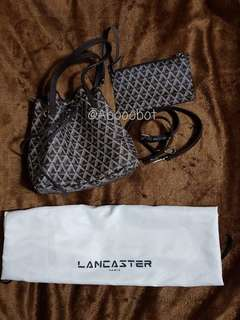 LANCASTER BUCKET BAG WITH PURSE