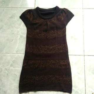 Knitted Dress For 8-9y/o