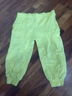 FREE Superman Deep Yellow Pants