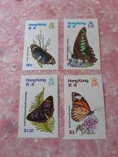 1979年香港蝴蝶紀念郵票
