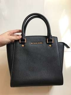 Michael Kors Black Selma Small Bag