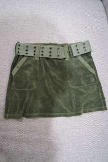 Juicy Couture - suede skirt