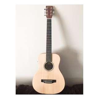 Martin LX1E 單板 34吋 旅行電木吉他 紅髮艾德 御用
