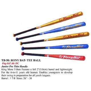 Baseball Bats and Gloves