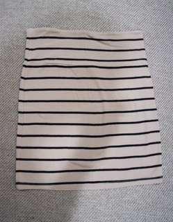 Forever 21 - striped bandage skirt