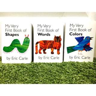My very first book系列 colors shapes words by Eric Carle
