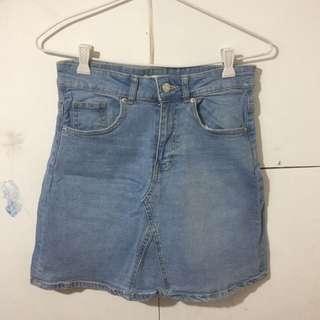 Semi A line skirt