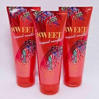 Bath & Body Works Sweet Tropical Vanilla Body Cream