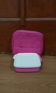 lolly loly tup tupperware pink 1 set