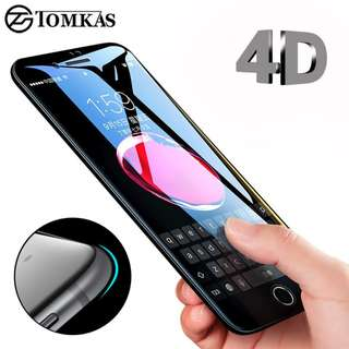 4D Edge Tempered Glass For iPhone