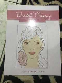 "Repriced!! Brand New ""Bridal Makeup"" face charts"