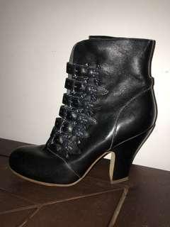 Bernhard Wilhelm x Camper skull & cross bone ankle boots