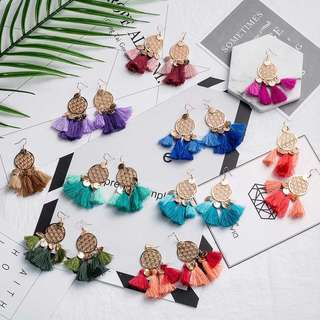 TASSEL EARRINGS NEW