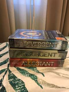 Divergent, Insurgent, and Allegiant by Veronica Roth