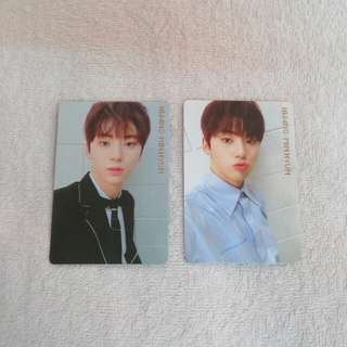 Wanna One I Promise You IPU Photocard Official Minhyun Day & Night Version