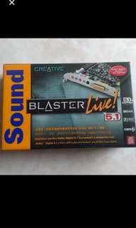 CREATIVE SOUND BLASTER LIve ! 5.1