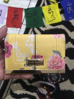 "Repriced!! ""River Island"" card holder"