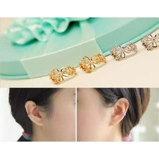 Non-piercing Ear Bone Clip On Earring