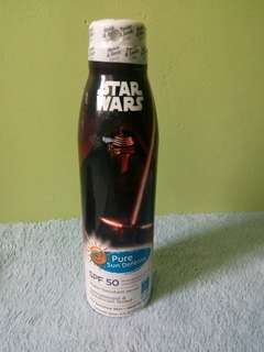 Star Wars Sunblock SPF 50