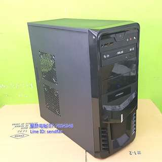 LOL全開 GTA5 天M模擬器 鬥陣特攻 桌上型電腦 I5-2310 8G 500G 獨顯 DVD 聖發二手電腦