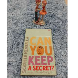 Can You Keep A Secret ? - Jangan bilang - bilang ya (Sophie Kinsella)