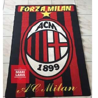 Karpet Bola AC Milan ukuran 100 x 150 cm
