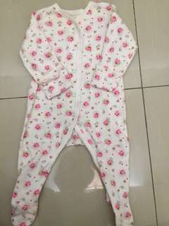 Baby Sleepsuit mothercare