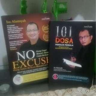 Buku Motivasi (2 Buku) ; 101 Dosa Penulis Pemula dan No Excuse!