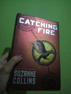 Catching Fire hardbound copy (Hunger Games book 2)