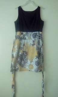 Obi floral dress